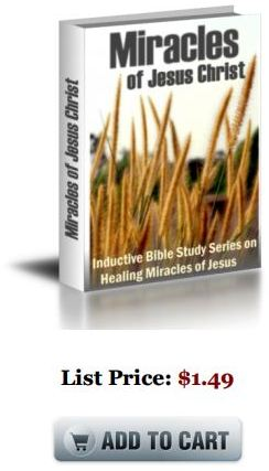 bible study ebook pdf Miracles of Jesus Christ:Inductive Bible Study Series (PDF and Kindle eBook)