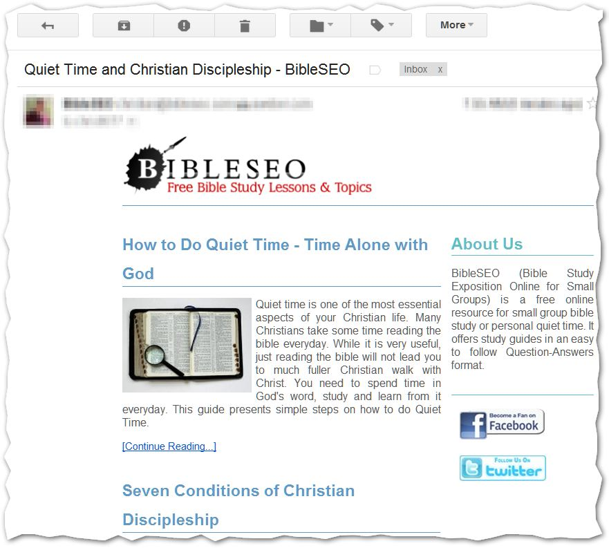 Free Bible Study Resources