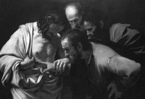 jesus gives proof to doubting thomas
